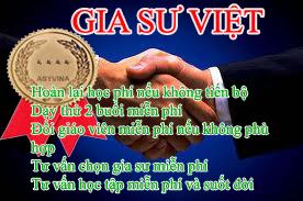 Gia Sư Việt cam kết chất lượng gia sư tốt nhất cho mọi gia đình