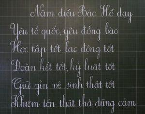 Review địa chỉ luyện viết chữ đẹp uy tín nhất Hà Nội hiện nay