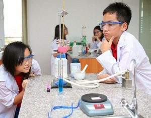 Quy trình hướng dẫn học sinh làm thí nghiệm Hóa an toàn