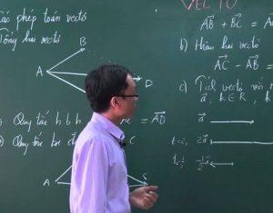 Hướng dẫn học sinh hoàn thiện kỹ năng giải bài Toán về Véc – Tơ