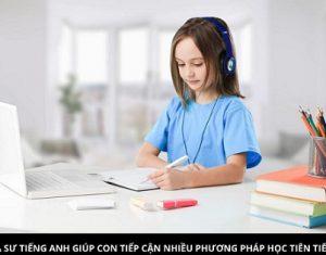 Phương pháp gia sư Tiếng Anh lớp 3 ở Hà Nội áp dụng cho con
