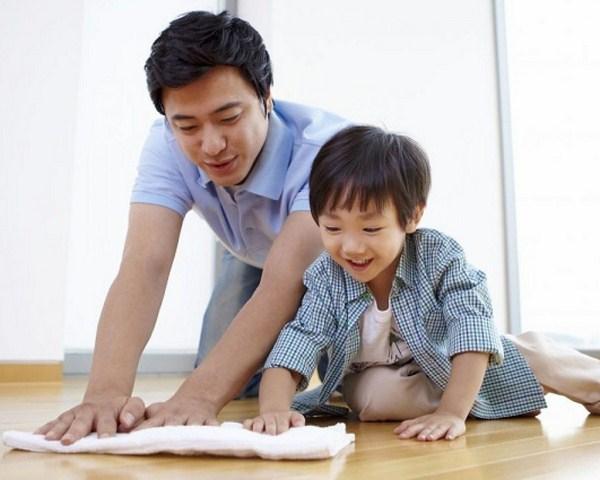 Rèn tính tự lập để trẻ tự làm việc nhà