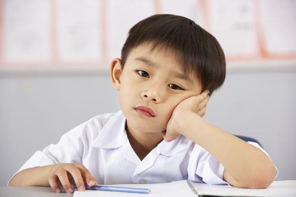 Trẻ sẽ cảm thấy chán nản khi phải học quá nhiều trong ngày